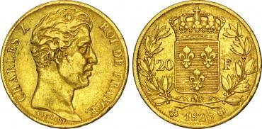 20 франков, Карл X
